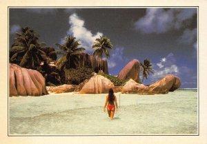 Seychelles The Royal Cove The Breakwater Postcard