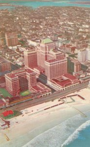 Chalfonte-Haddon Hall Hotel on Beach and Boardwalk - Atlantic City NJ New Jersey