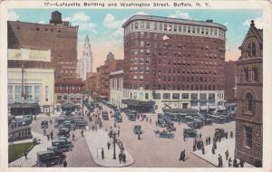 Lafayette Building and Washington treet, Buffalo, New York, 10-20s