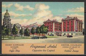 Colorado, Denver - Argonaut Hotel - [CO-189]