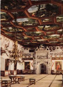 GG11682 Schloss Weikersheim Rittersaal mit Portal, Romantischen Strasse