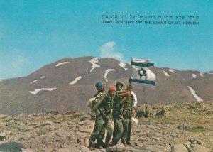 Israeli Soldiers on Summit of Mt. Hebron , 40-70s