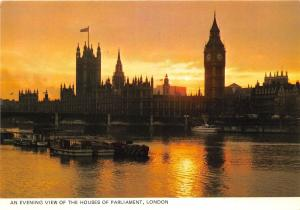 BT18828 an evening view of the houses of parliament london uk