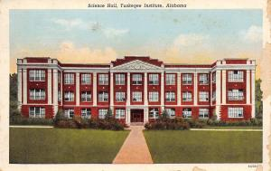 Alabama~Science Hall Tuskegee Institute~1946 Postcard