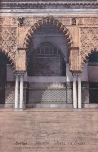 Spain Sevilla Alcazar Trano del Sultan