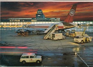MONTREAL , Quebec , Canada , 1988 ; Airplane at Airport
