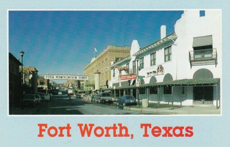 FORT WORTH , Texas , 1960s ; N. Main & Exchange STreet