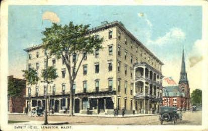 Dewitt Hotel Lewiston Me 1924
