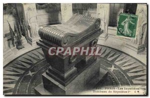 Old Postcard Paris Les Invalides Napoleon's Tomb 1