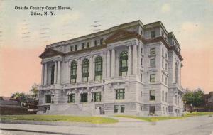 Oneida County Court House - Utica NY, New York pm 1914