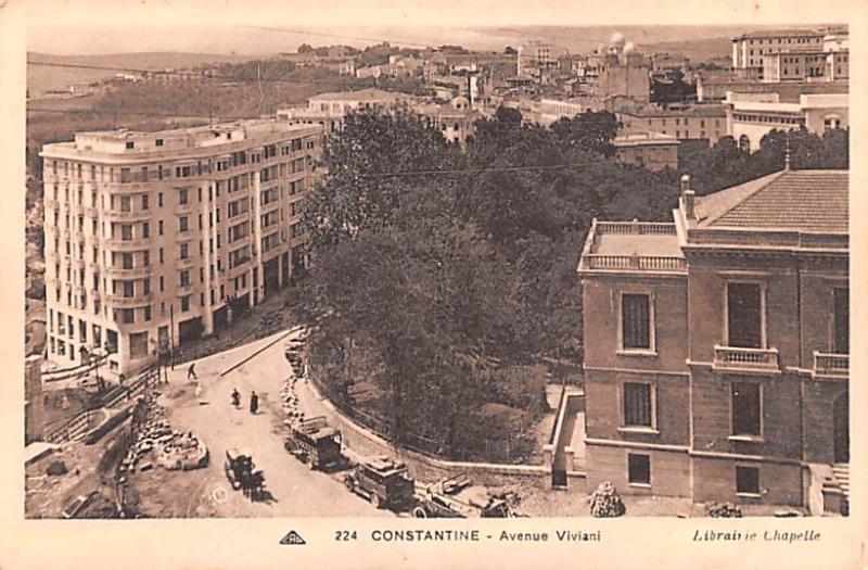 Constantine Algeria, Alger, Algerie Avenue Viviani Constantine Avenue Viviani