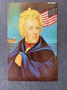 Andrew Jackson By Morris Katz Chrome Postcard H1268083032