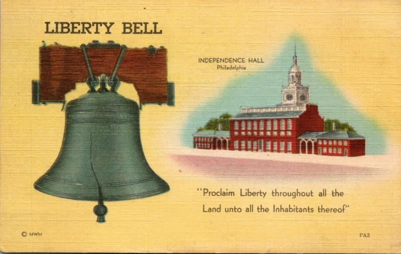 Pennsylvania Philadelphia Independence Hall & Liberty Bell