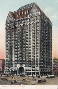 Illinois Chicago Masonic Temple 1908
