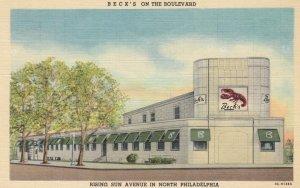 PHILADELPHIA , Pennsylvania , 1930-40s ; BECK's on the Boulevard