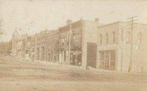 RP: HIAWATHA , Kansas , 1909 ; Main Street