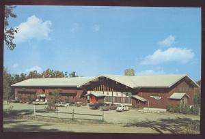 Stratton Mountain Inn Vermont Lodge Postcard