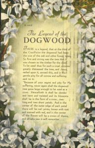 The Legend of the Dogwood Tree - Linen