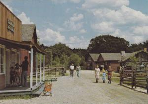 A Common view of the Main Street in the early 1800´s,  Doon Pioneer Village,...
