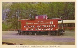 Stone Mountain Scenic Railroad The Red Caboose Georgia