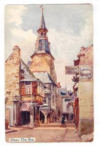 Une Rue, Dinan (Côtes-d'Armor), France, 1900-1910s