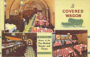 The Covered Wagon, Home of Pan-Broiled Steaks & Chops, Chicago
