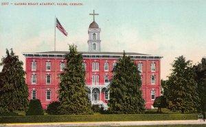 Sacred Heart Academy, Salem, Oregon, Early Postcard, Unused