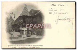 Old Postcard Dives The Remois Hostellrie From William the Conqueror The owner...