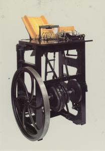 Victorian Royal Mail Industry Stamp Cancelling Machine Workers Factory Postcard