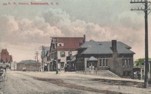 SOMERSWORTH , New Hampshire, 00-10s; Railroad Train Station