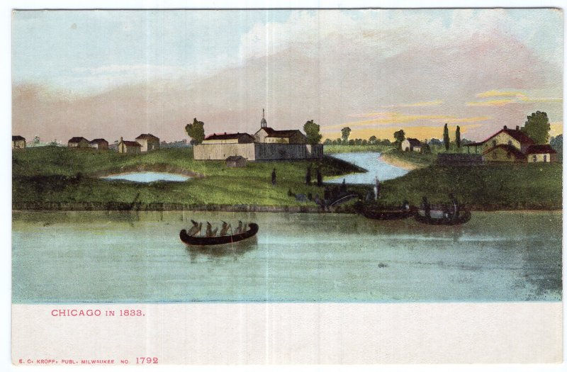 Chicago In 1833