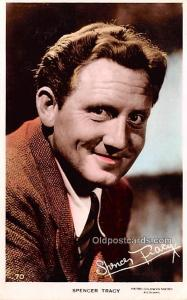 Spencer Tracy Movie Star Actor Actress Film Star Postcard, Old Vintage Antiqu...