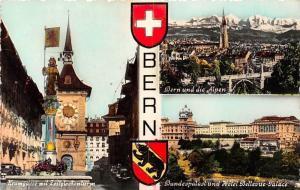 Switzerland Bern Bundespalast und Hotel Bellevue Palace, Kramgasse Turm