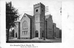 Berwick Pennsylvania~New Evangelical Church~1909 The Fair Store Publ. Postcard