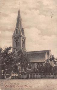 Wanstead Christ Church Kirche Eglise 1909