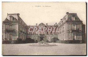 Old Postcard Colmar Prefecture