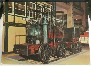Postcard Transport Railway Puffing Billy 1813 - unposted