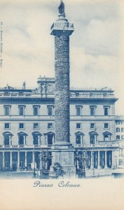 Piazza Colonna , Italy , 1900-10s