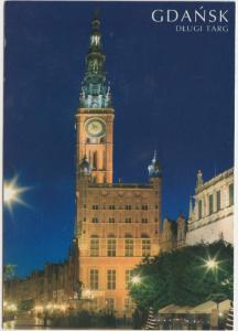 GDANSK, Dlugi Targ, Poland, used Postcard