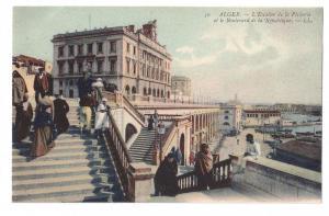 Algiers L'Escalier de la Pecherie Boulevard de la Republique