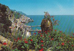 Italy Amalfi Panorama General View
