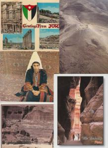 JORDANIA 87 Cartes Postales Mostly 1960-2000
