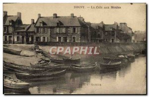Old Postcard Isigny The wedge mussel