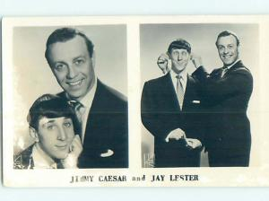 old rppc JIMMY CAESAR - COMEDIAN ENTERTAINED IN LAS VEGAS NEVADA NV HM0695