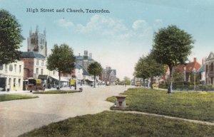 TENTERDEN , Kent , England , 00-10s ; Church & High Street