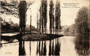 CPA Ermenonville- Ile des Peupliers,Tombeau de J.J. Rousseau FRANCE (1020470)