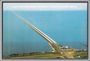 Louisiana, New Orleans Lake Pontchartrain Causeway - [LA-017X]