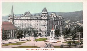 Windsor Hotel, Montreal, Quebec, Canada, 1902 Postcard, Unused