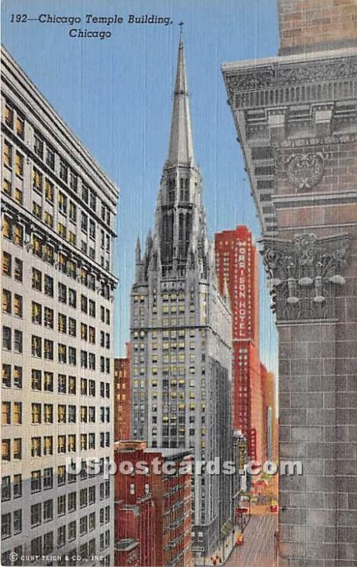 Chicago Temple Building - Illinois IL