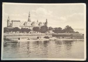 Vintage Postcard Used Castle Copenhagen Denmark LB